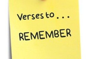 Verses to Remember